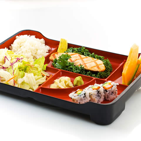 bento lunch box deals big deals 3 compartment food container with lid bento kampai sushi bar. Black Bedroom Furniture Sets. Home Design Ideas